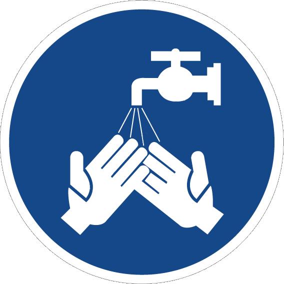 Вымойте руки, пожалуйста
