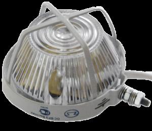 Оповещатель световой 012-2 ОС 0ExiaIICT6 в комплекте УПКОП 135-1-2П