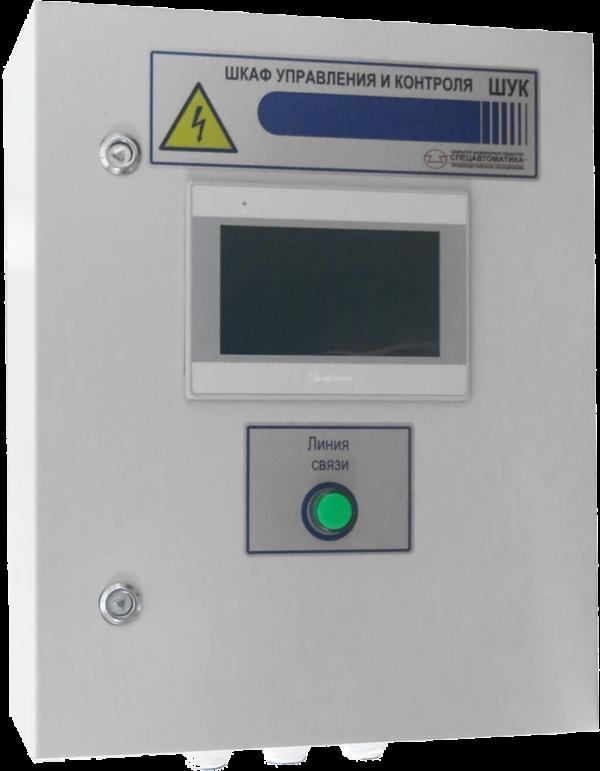 Шкаф управления и контроля ШУК-6-IP54-O