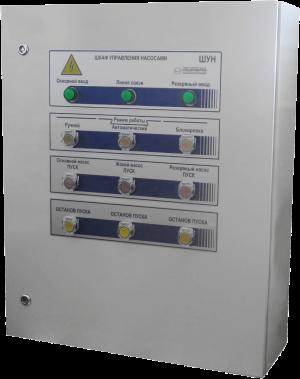 шкаф управления насосами ШУН-2D50(22/1D12(5.5)-Pв-IP54-O