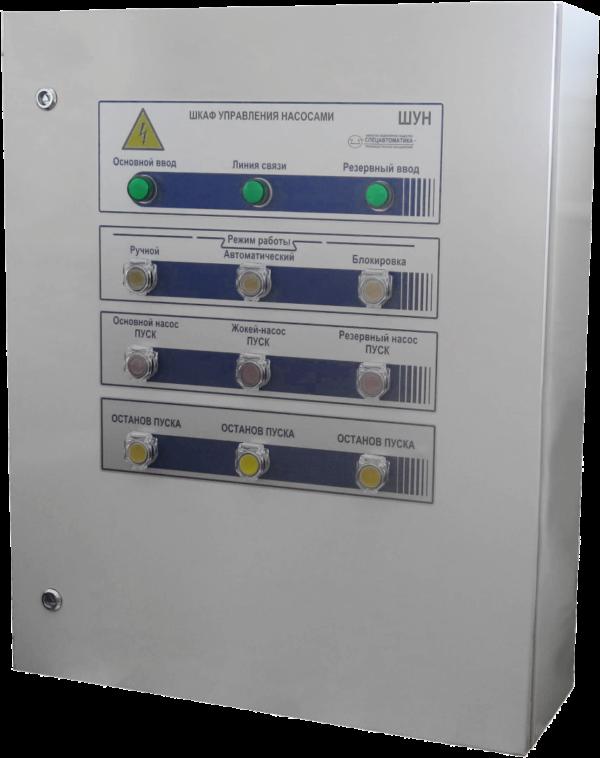 Шкаф управления насосами ШУН-2D65(30/1D12(5.5)-Pв-IP54-O