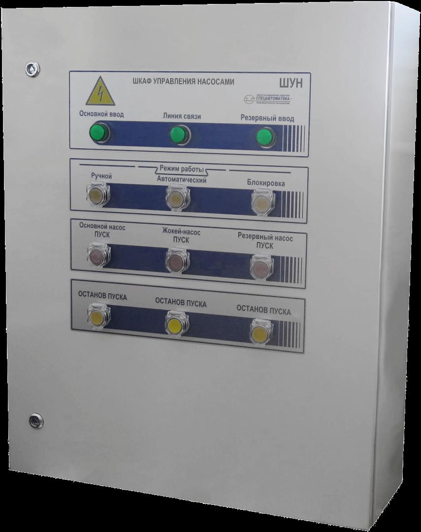 Шкаф управления насосами ШУН-2D80(37/1D12(5.5)-Pв-IP54-O
