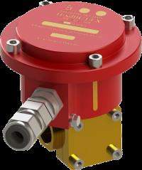 Эл.магнитный клапан Ду12 с соленоидом с маркировкой взрывозащиты 1ExdIIСТ4 Х с кабельным вводом (пусковое напряжение соленоида электропривода 220В)