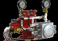 Узел управления с комбинированным приводом взрывозащищенный УУ-Д150/1,6(Р,Э24,Г0,07)-ВФ.У3.1
