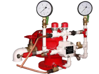 Узел управления дренчерный с гидроприводом УУ-Д100/1,6 (Г0,07)-ВФ.О4
