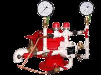 Узел управления дренчерный с электроприводом УУ-Д100/1,6(Э220)-ВФ.О4