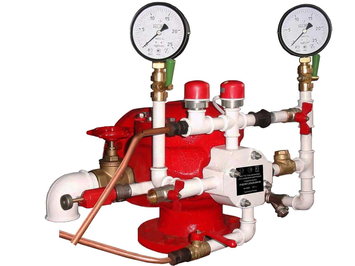 Узел управления дренчерный с электроприводом УУ-Д150/1,6(Э220)-ВФ.О4