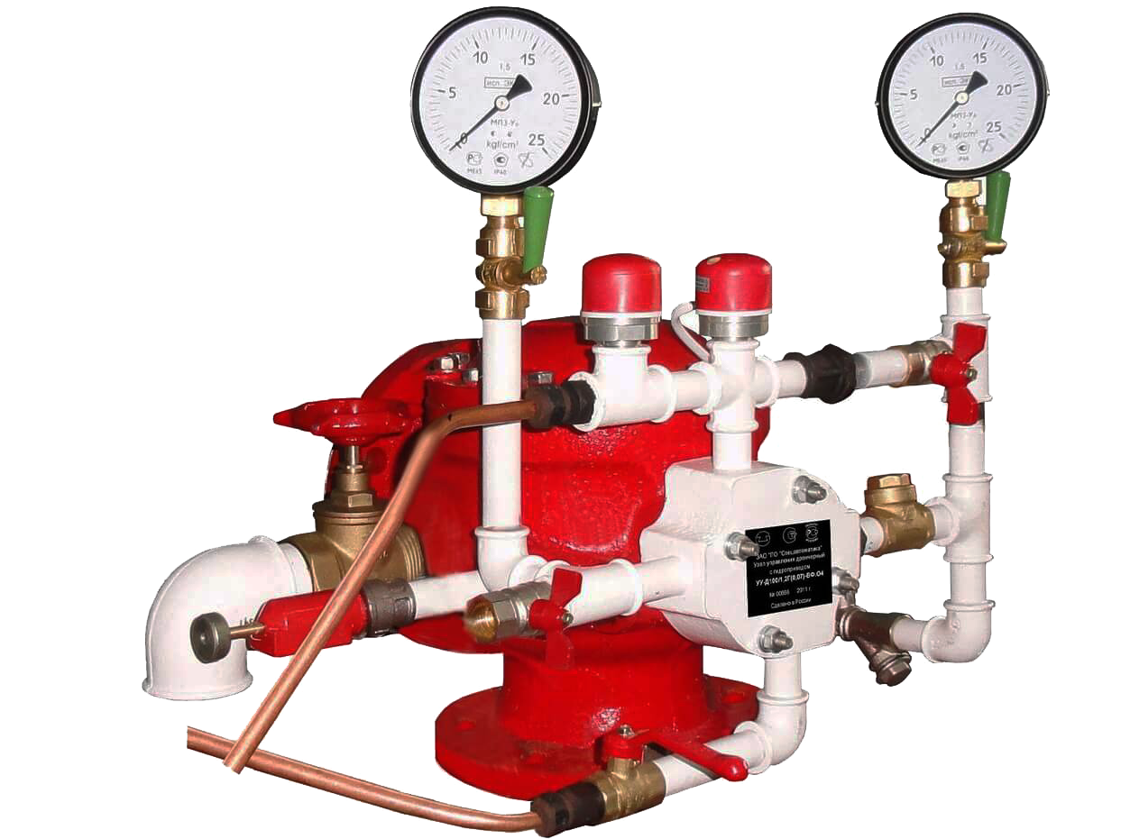 Узел управления дренчерный с электроприводом УУ-Д150/1,6(Э24)-ВФ.О4