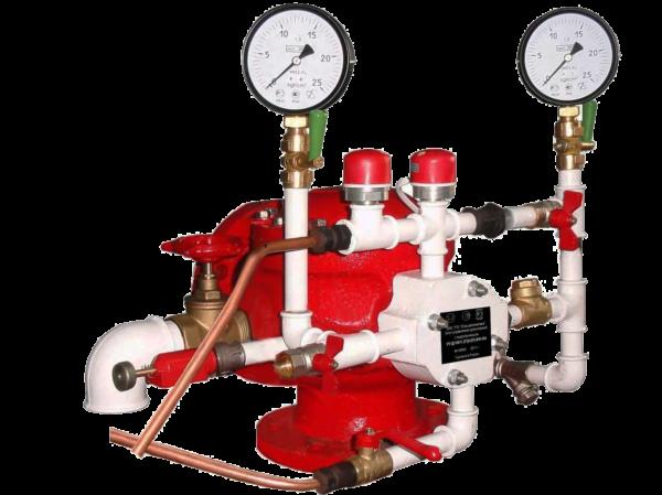 Узел управления дренчерный с электроприводом УУ-Д100/1,6(Э12)-ВФ.О4