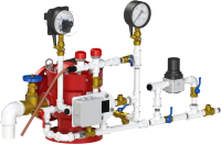 Узел управления спринклерный воздушный УУ-С150/1,6Вз (Э220)-ВФ.О4-01 (с электроклапаном)