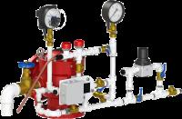 Узел управления спринклерный воздушный УУ-С150/1,6Вз (Э24)-ВФ.О4-01 (с электроклапаном)