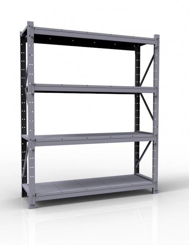 Сборно-разборные рамы боковые из стали. Допустимая нагрузка - 1500 кг.